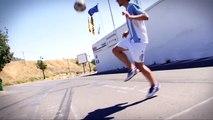 Awsome ball lift | learn soccer | soccer moves | football moves | football tutorial | futsal skill
