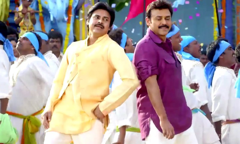 Gopala Gopala Video Songs - Bhaje Bhaaje Song - Venkatesh, Pawan Kalyan, Shriya Saran