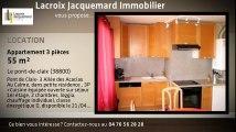 Location - appartement - Le pont-de-claix - 55m²