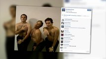 Steve Carell, Jon Stewart and Stephen Colbert Post Hilarious #TBT Shirtless Video