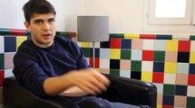 Peter Peter en interview pour le Prix Talents W9