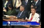 Justo Orozco podría perder su licencia de abogado por discriminación