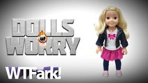 """DOLLS OF WORRY: New """"Smart Doll"""" Runs On The Internet, So Of Course, Hackers Make It Dirty"""