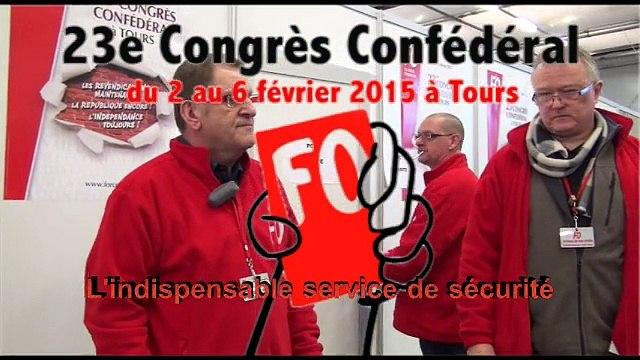 La sécurité au Congrès de Tours 2015