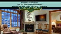 Town Lift Condominiums : Condo Rentals In Park City, UT
