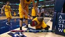LeBron James Injury - Cavaliers vs Pacers - February 6, 2015 - NBA Season 2014-15