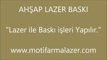 Ahşap Lazer Baskı | Motif Lazer