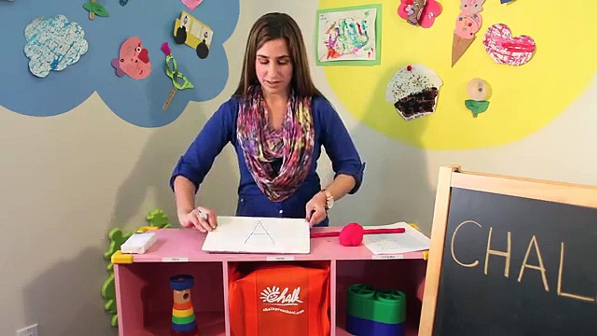 Kids Education - Nursery Writing Activities During Preschool Lessons