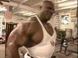 Ronnie Coleman ( Bicep Workout )