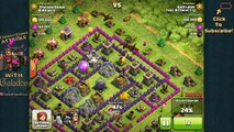 """Clash of Clans """"Super Clash Bowl"""" 2015 and 275 Barbarians Attack!"""