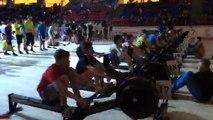 Finale Relais masculin CF UNSS aviron indoor