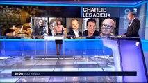 Hommages de leurs proches à TIGNOUS et WOLINSKI, de Charlie Hebdo le 15 janv 2015