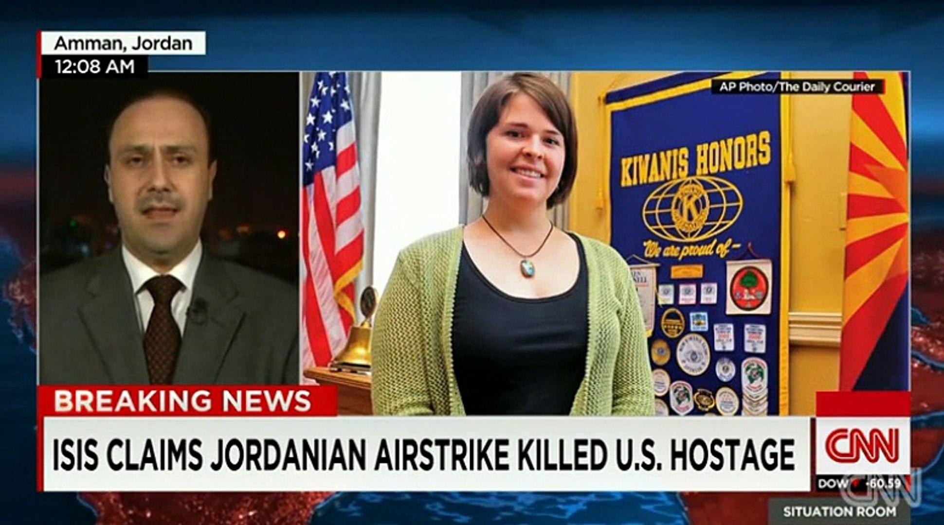 ISIS and Daish Claim Jordainian Air Strike Killed U.S. Hostage
