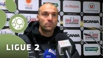 Conférence de presse Angers SCO - Tours FC (2-0) : Stéphane MOULIN (SCO) - Gilbert  ZOONEKYND (TOURS) - 2014/2015