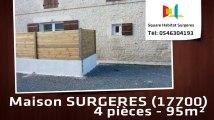 A louer - Maison/villa - SURGERES (17700) - 4 pièces - 95m²