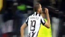 FUNNY bonucci falls to try to jump bar ads - Juventus vs Milan 2015 - Ac Milan vs Juventus HQ - alex max