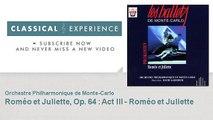 Serge Prokofiev : Roméo et Juliette, Op. 64 : Act III - Roméo et Juliette