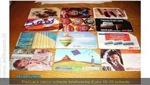 PESCARA, MONTESILVANO CERCO  SCHEDE TELEFONICHE   EURO 10