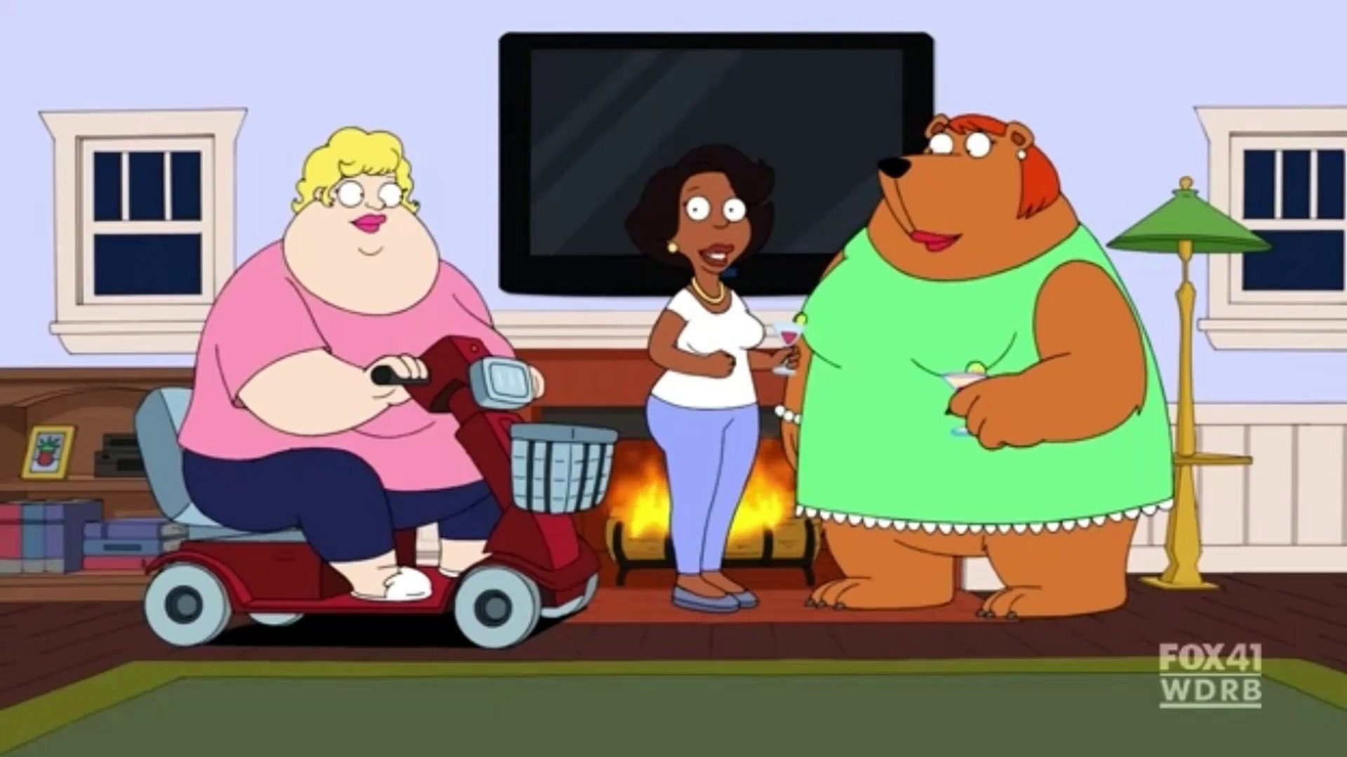 The Cleveland Show S01E20 Clip#8.
