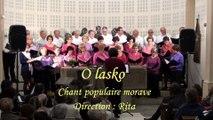 O lasko   Chant populaire morave Par la chorale La Clé des Chants de Chuzelles