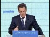 Nicolas Sarkozy porte de Versailles