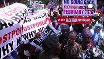 Nigeria : présidentielle reportée pour raisons de sécurité