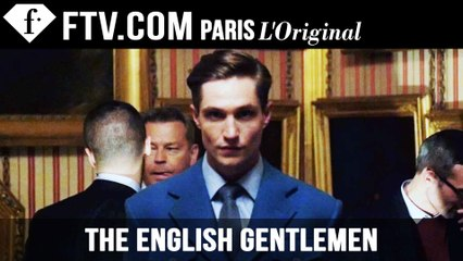 The English Gentlemen Event at London Collections: Men F/W15 | FashionTV