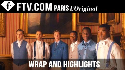 Wrap Up and Highlights of London Collections: Men F/W15 | FashionTV
