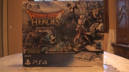 PlayStation 4 - Dragon Quest Heroes Metal Slime Limited Edition (Video Unboxing)