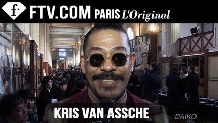 Kris Van Assche Front Row | Paris Men Fashion Week F/W15  | FashionTV