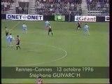 13/10/96 : Stéphane Guivarc'h (42') : Rennes - Cannes (3-0)