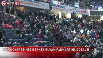 AKP mitinginde Berkin Elvan pankartı açan gruba müdahale