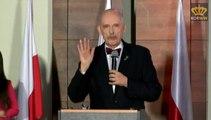 Janusz Korwin-Mikke i Przemysław Wipler - Konwencja założycielska partii KORWiN (08.02.2015)