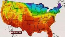 Wacky weather sweeps across the U.S.