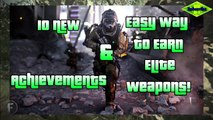 Easy Way To Earn Elite Weapons & 10 New Achievements - Havoc DLC (Ghosts Gameplay)