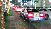 Exotic Cars in Dubai Compilation - Supercars Cruising the Streets