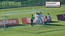 Mario Rondon Marca 3 Goles en empate de su Equipo