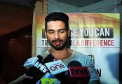 "Shahid Kapoor Shares Some Fact About The ""Cancer"""