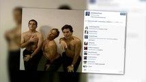 Steve Carell, Jon Stewart und Stephen Colbert posten ein oben ohne Video