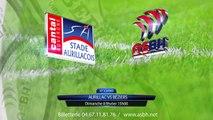 20° journée de ProD2 Aurillac - ASBH Réaction Manny Edmonds