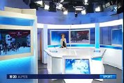 France 3 Alpes 19/20 édition Alpes  2015_01_21