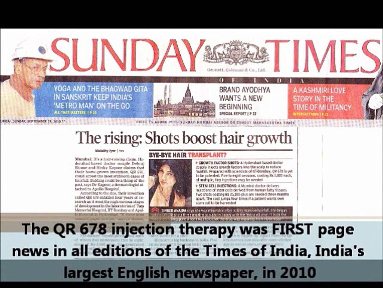 QR 678 | Hair Growth Treatment | Best Hair Loss Solution in Mumbai, India - Dr. Rinky Kapoor