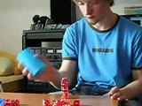 Amazing Dice Stacking   Funny Videos