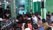 ZAKIR SOHAIB MEHDI OF SHEIKHUPURA  Part 2/3 Imam Bargha Hassan Mujtaba a.s Faisalabad