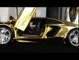 the world's most expensive car made from 25 KG gold