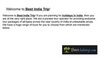 Best Kashmir Tours Packages in India Best Rajasthan Tours Packages in India-Bestindiatrip