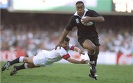 Jonah Lomu INCREDIBLE bulldozer try v England in 1995 Rugby World Cup