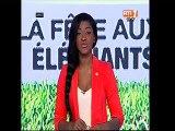 Parade du Président Alassane Ouattara dans les rues d'Abidjan pour saluer la victoire des Eléphants