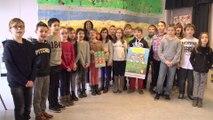 La JPA et la solidarité présentées par une école de Reims à Najat Vallaud Belkacem