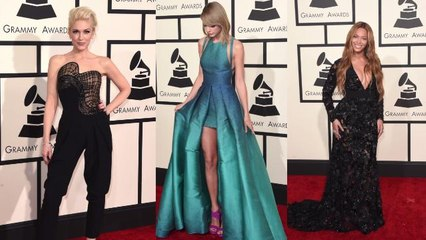 the best dressed and most shocking moments on the grammys red carpet